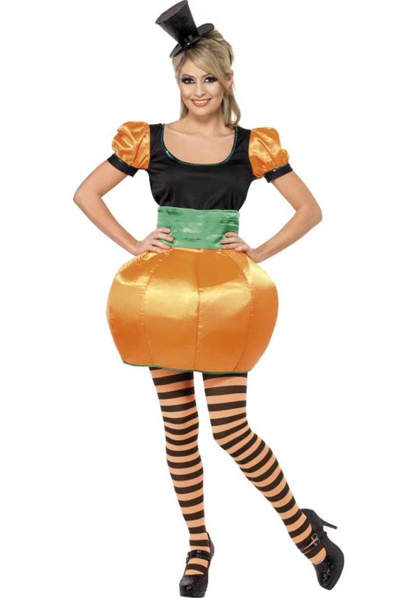 Female Pumpkin Costume - Halloween Costumes at Escapade | Costume ...