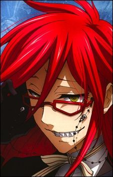 Who does the voice of Grell Sutcliff?