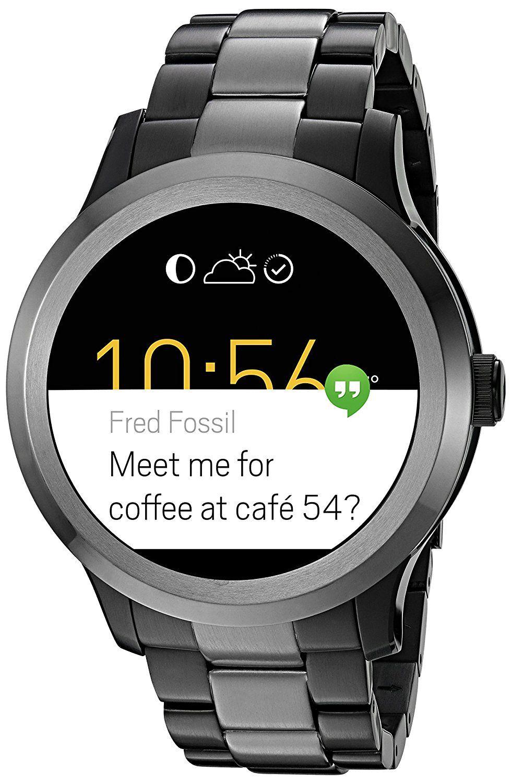 Fossil Q Founder Gen 2 Touchscreen Two Tone Gunmetal Stainless Steel Smartwatch Apple Watch Fashion Smart Watch Rose Gold Apple Watch