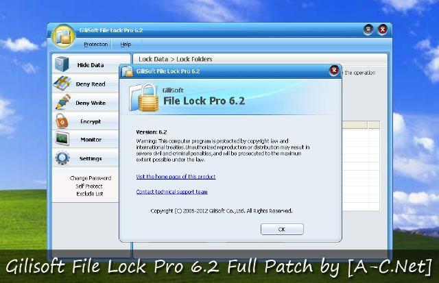 GiliSoft File Lock Pro Encrypt Files on your PC using 256 bit AES Encryption