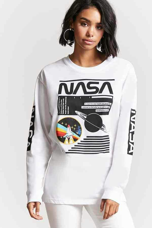 3119bad43 Nasa T-Sshirt from Forever 21 | Sci-Fi in 2019 | Long sleeve tees ...