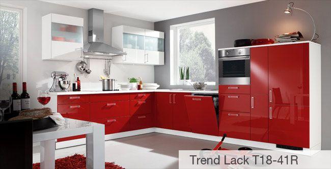 Nolte Küche Trendlack T18-41R Wohnung ) Pinterest - www nolte küchen de