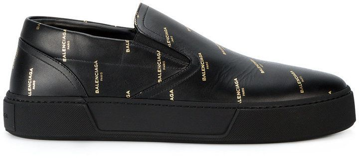 b433edee0a17 Balenciaga All Over laceless sneakers
