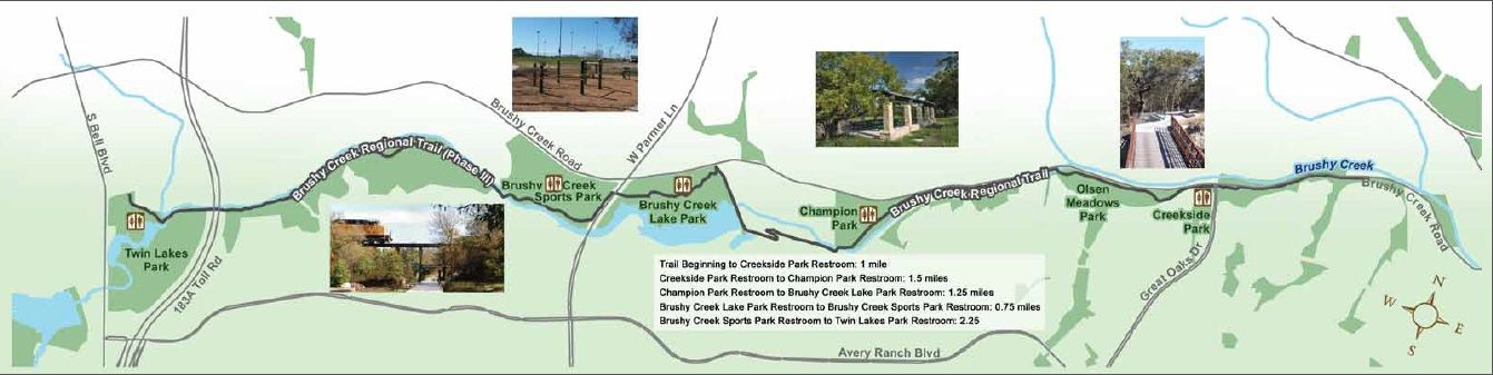 Brushy Creek Mountain Bike Trail