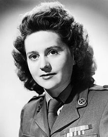 Odette Hallowes - GC, MBE, Chevalier de la legion d'honneur. She worked for the French underground, but was betrayed to the Gestapo. Under torture, she stuck to her cover story, was sentenced to death and taken to Ravensbruck. She survived the war and went on to testify against her the prison guards in 1946. Legend!