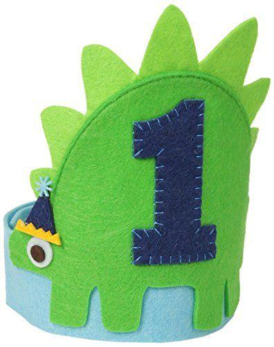 Mud Pie Baby-Boys Infant Dino Birthday Hat, Blue, One Size Mud Pie http://www.amazon.com/dp/B00SWWKIH8/ref=cm_sw_r_pi_dp_b4zovb0K02VJ0