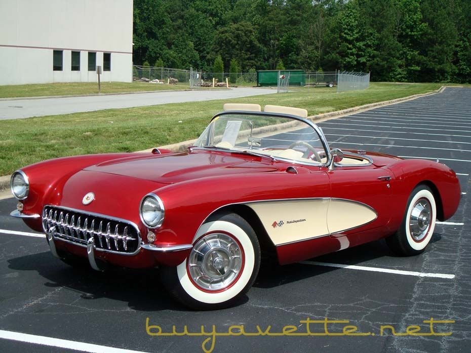 1956 Corvette   Old School Chevy   Pinterest   Cars, Chevrolet and ...