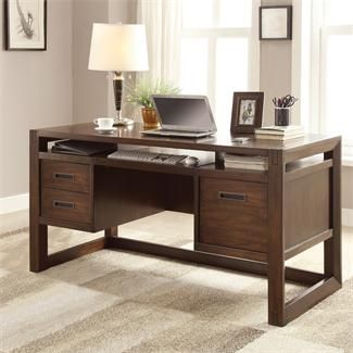 Riata Computer Desk I Riverside Furniture