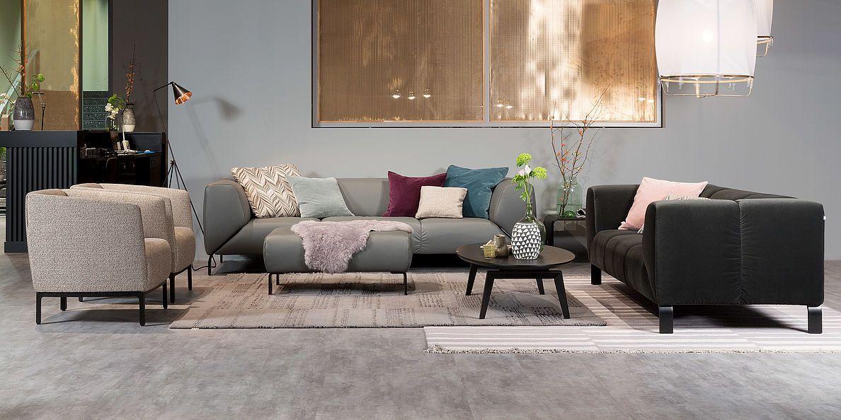 Marvelous Studio Anise // Rolf Benz 323 Sofa #interior #design #comfort #living