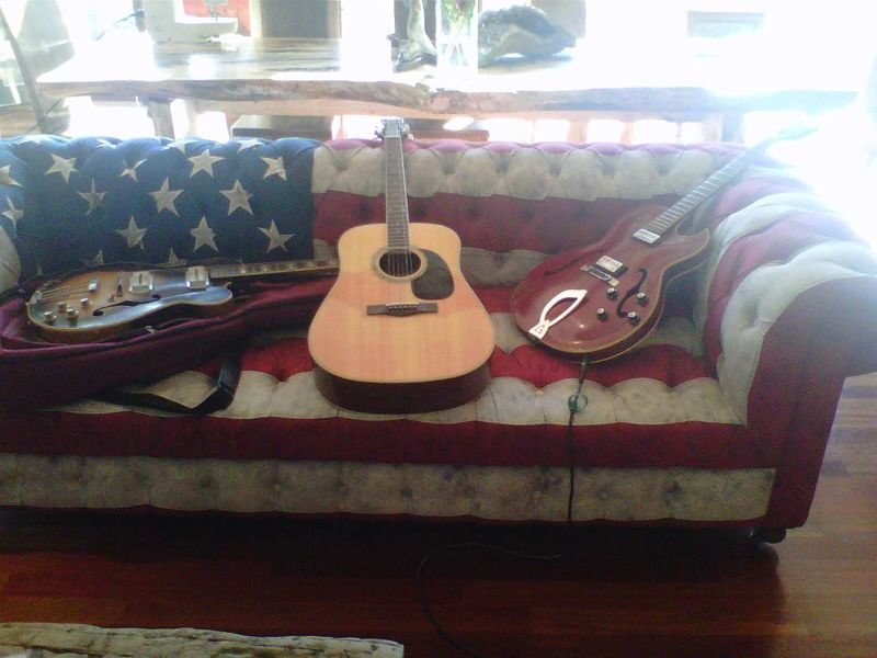Fine Stars And Stripes Flag Couch Americana Rock And Alphanode Cool Chair Designs And Ideas Alphanodeonline