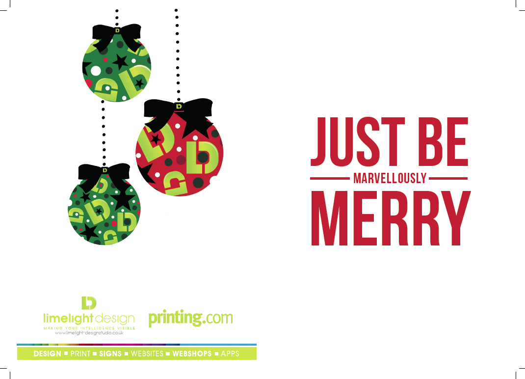 Here\'s are own Christmas card design this year! | December Deals ...