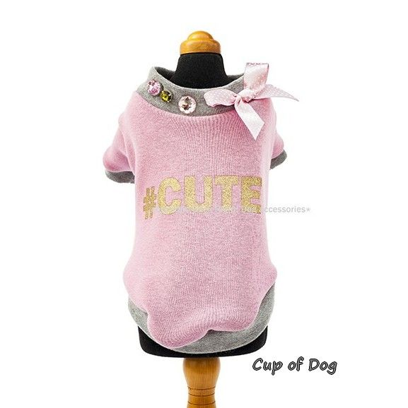 8adf400214 These dog shirts are made with meticulous handwork and detailed  elaboration. This designer combines different types of materials in her  characteristic ...