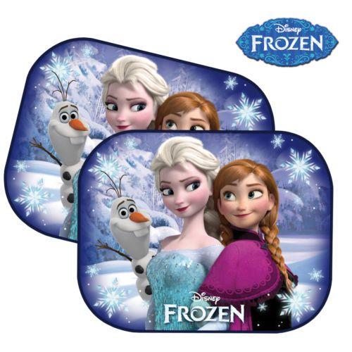 2~ Frozen Kids Baby Girl Children Car Window Sun Shades UV ...