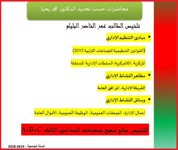 تحميل Pdf التنظيم الاداري الدكتور محمد يحيى Education Ios Messenger