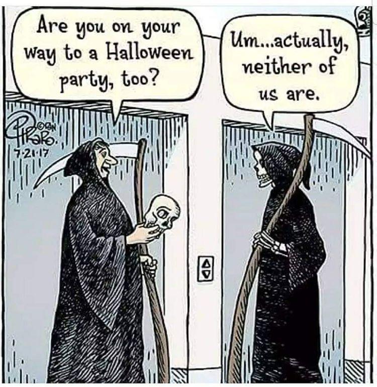 Pin By Galoopie On Dark Humor Halloween Jokes Halloween Funny Funny Cartoons