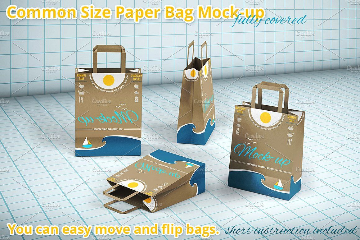 Download Shopping Paper Bag Mockup Bag Mockup Paper Bag Paper Shopping Bag