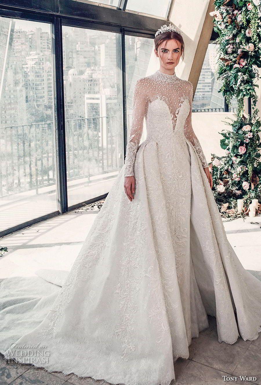 Lace v neck maxi dress april 2019 Tony Ward La Mariée Spring  Wedding Dresses u ucRoman Romance