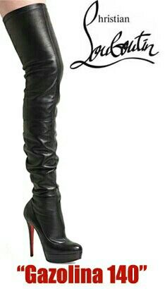6f30a54ee491 Christian louboutin thigh high boots