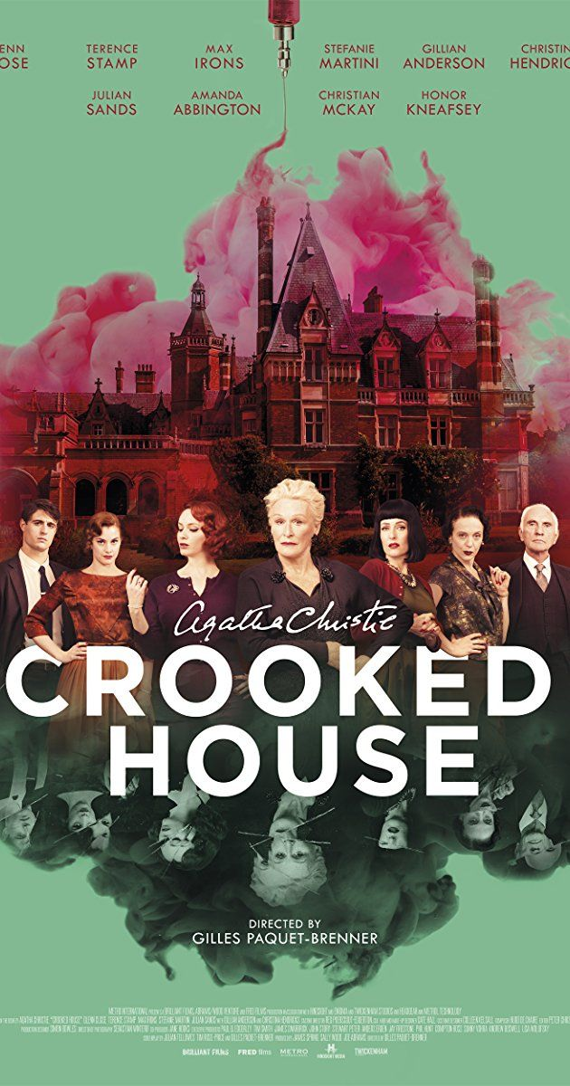 Agathachristie Crooked House Agatha Christie Pinterest Movies