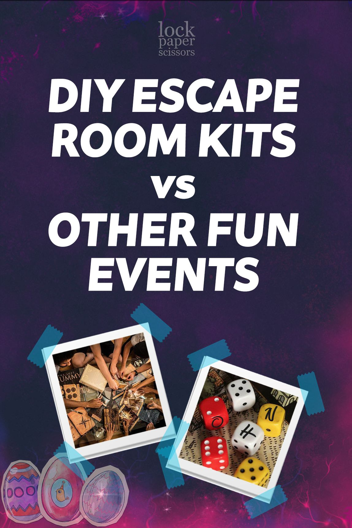 Diy escape room kits vs other fun events which is which