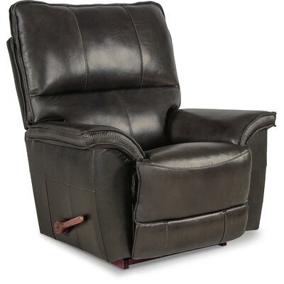 La Z Boy Norris Leather Manual Rocker Recliner Rocker Recliners Leather Recliner Recliner