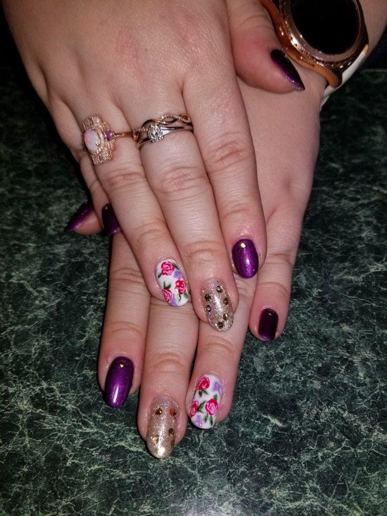 Pin By Amber Mcgee On Amber Nail Stylist At Theoasissalonandspa Nails Spa Salon Beauty