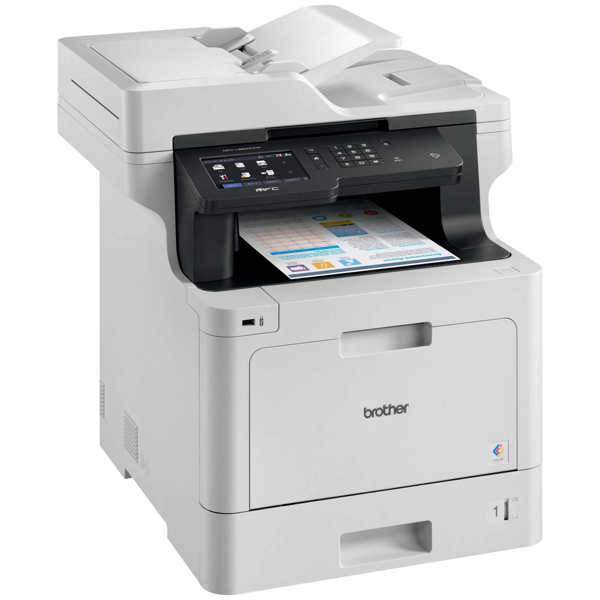 Brother Mfcl8900cdw Business Color Laser Allinone Printer Advanced Duplex Computerprinter Brother Mfc Laser Printer Business Colors