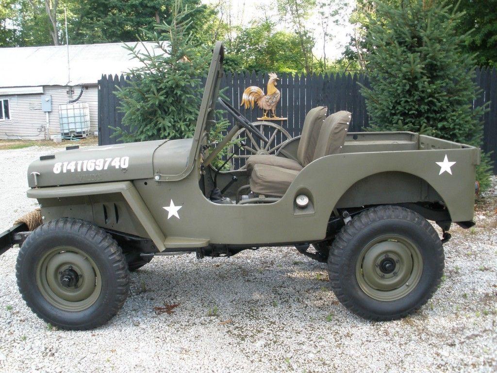 1946 jeep willys cj2a [ 1024 x 768 Pixel ]