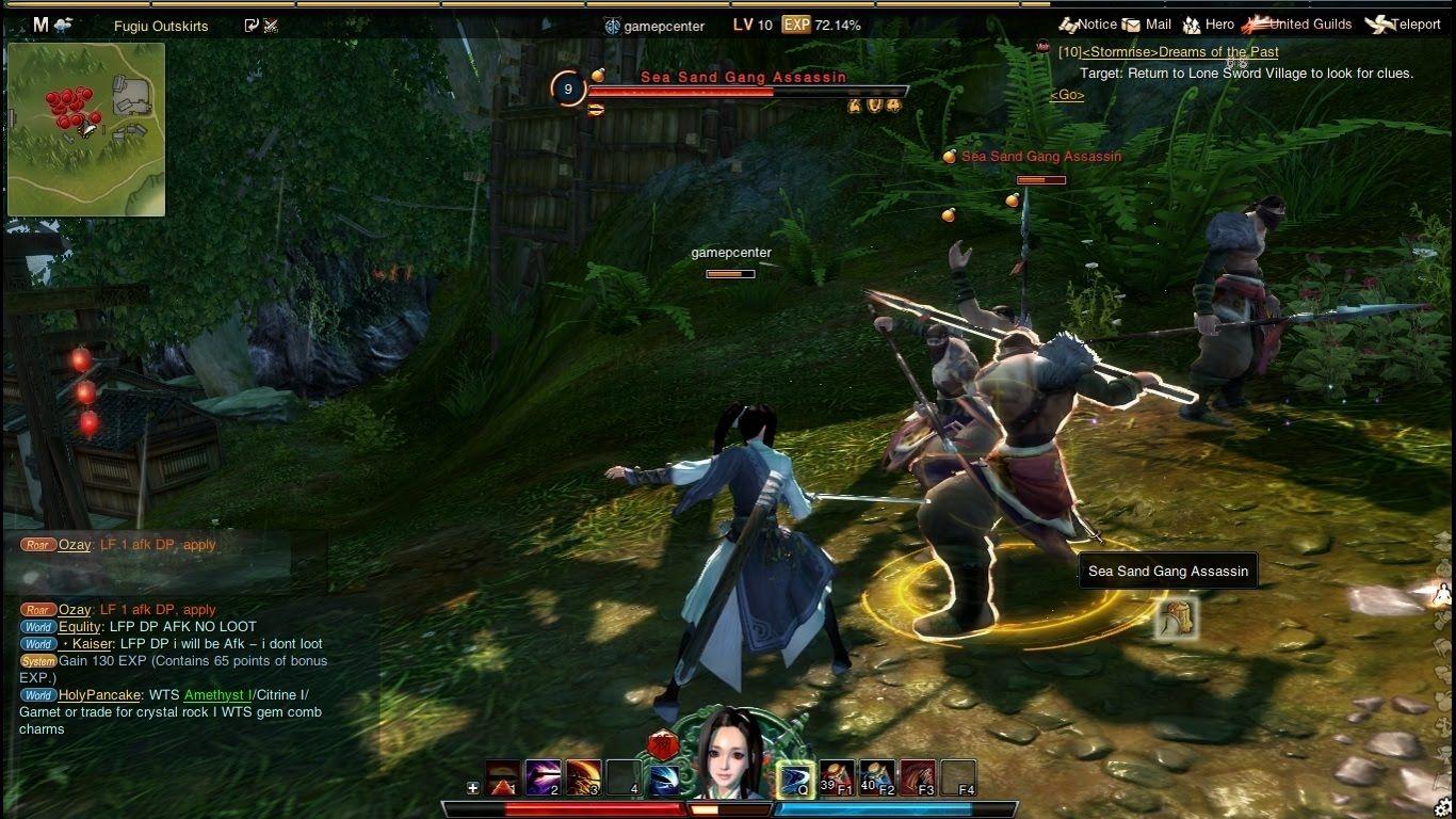 Swordsman Gameplay Start Character Creation 2015 Hd