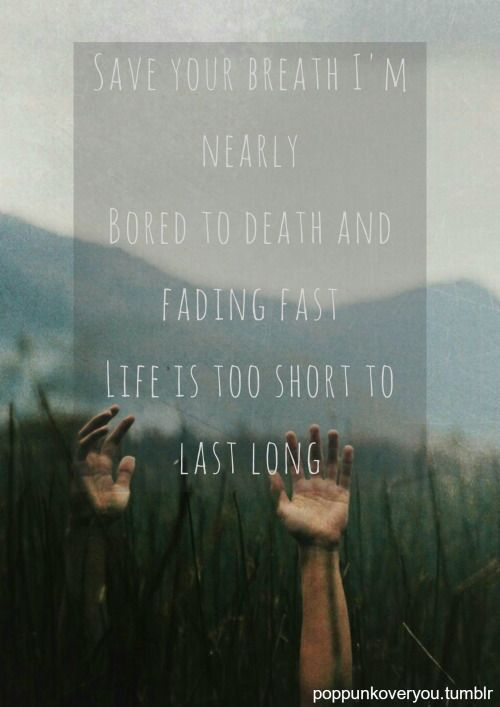 Bored To Death by Blink-182