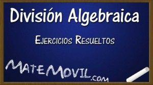 Division Algebraica Ejercicios Resueltos Web Ejercicios