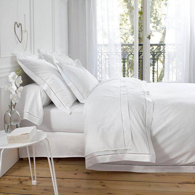 housse de couette percale secret chambre pinterest housse de couette blanche couette. Black Bedroom Furniture Sets. Home Design Ideas