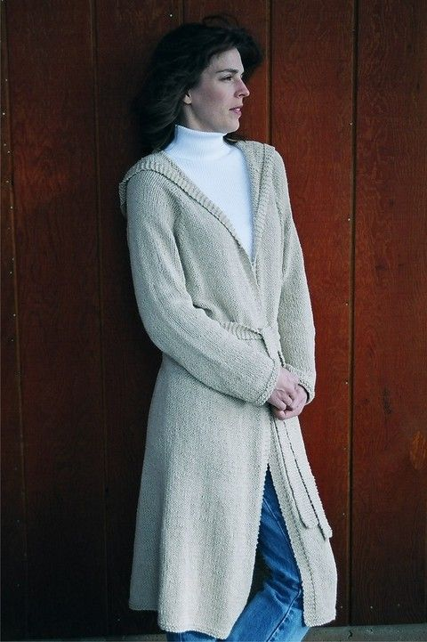 Knitting Pure and Simple - 225 - Neckdown Long Hooded ...