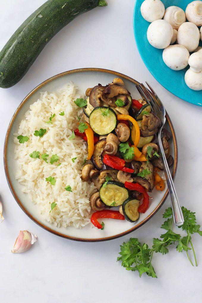 Tefal ActiFry Vegetable Stir Fry #vegetablestirfry