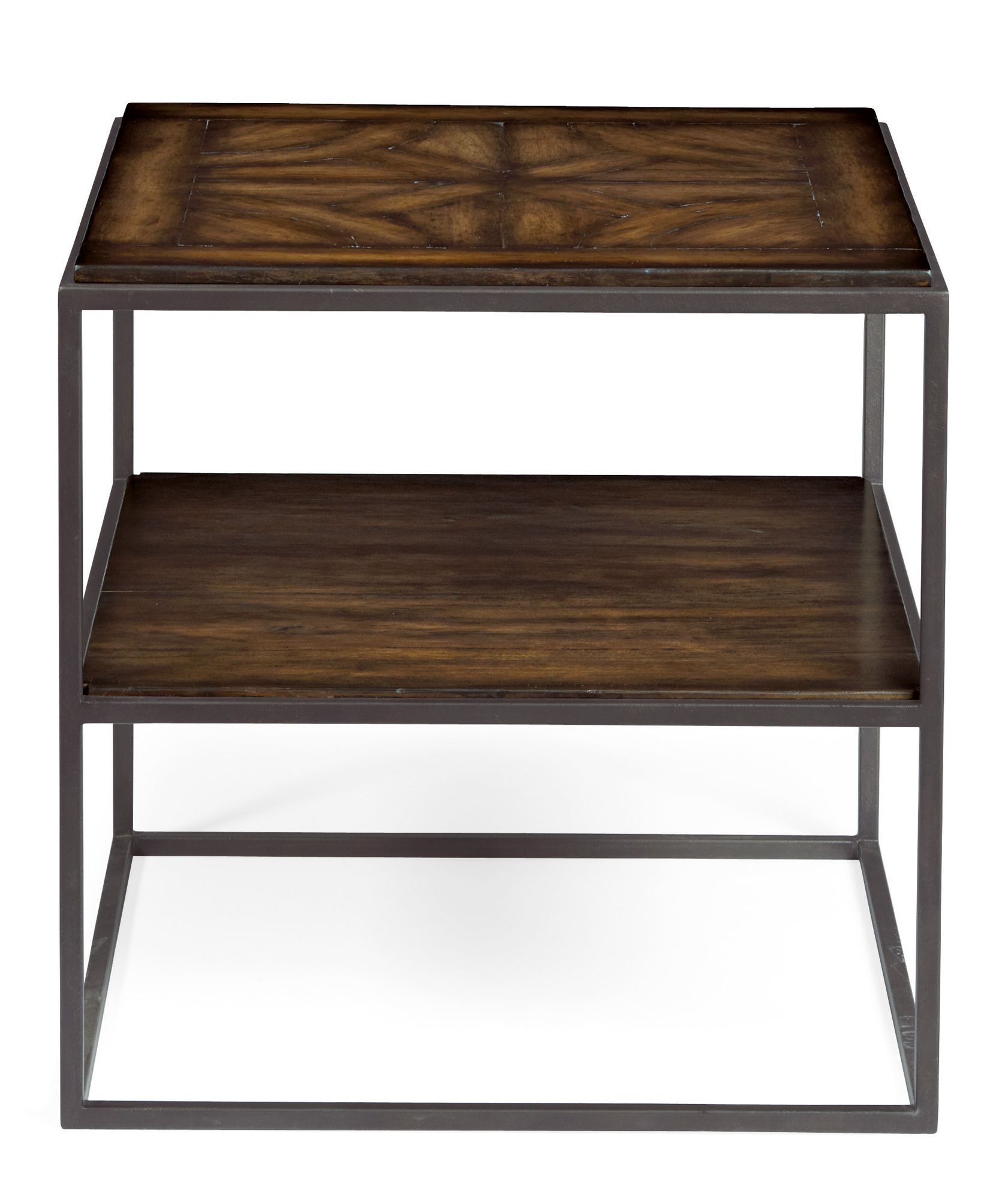 Stupendous Bernhardt Vestige Square End Table In Allspice 345 111 Theyellowbook Wood Chair Design Ideas Theyellowbookinfo