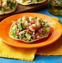 Border Grill Shrimp And Avocado Tostada