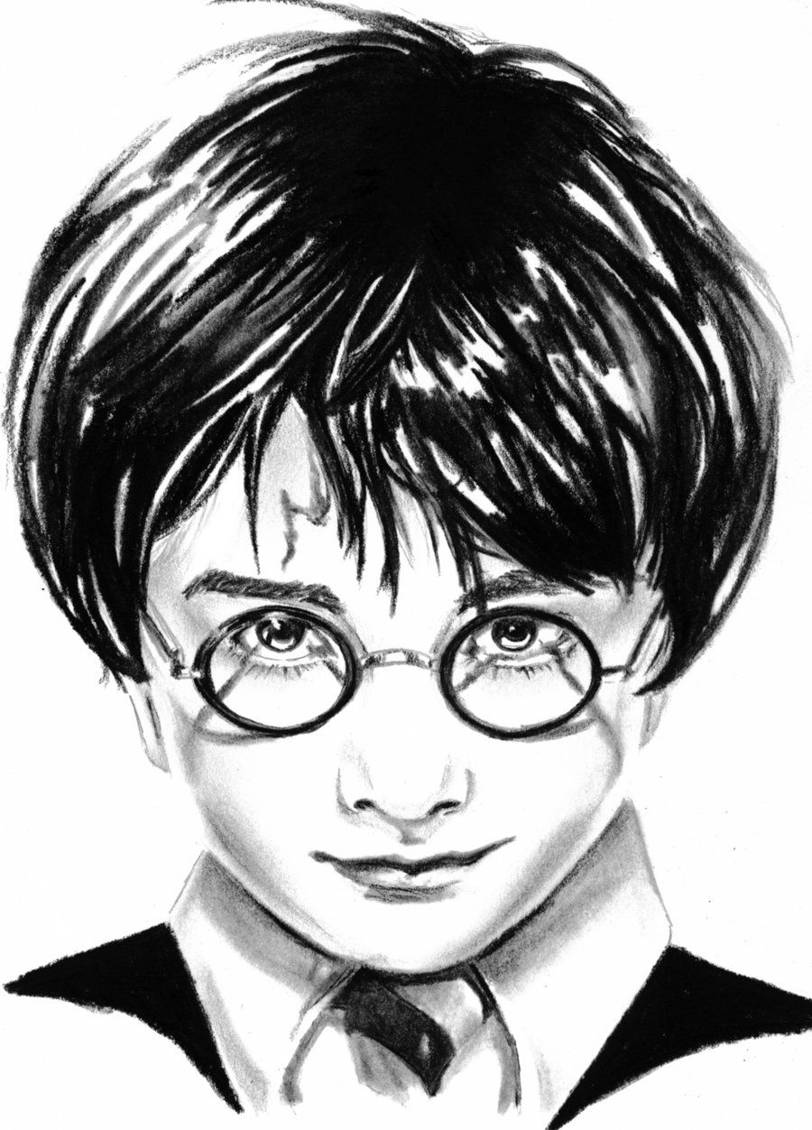 Harry Potter Black And White Drawing | www.imgkid.com ...