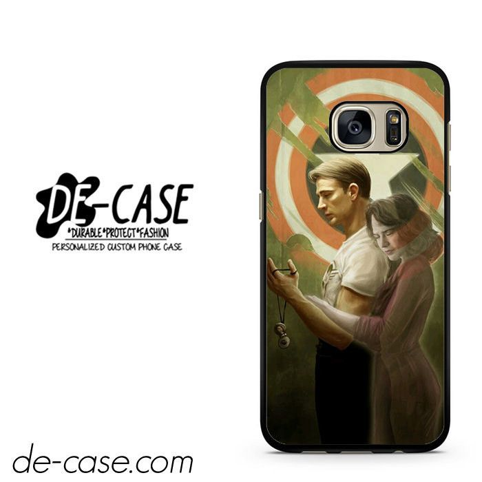Captain America And Agent Carter DEAL-2337 Samsung Phonecase Cover For Samsung Galaxy S7 / S7 Edge