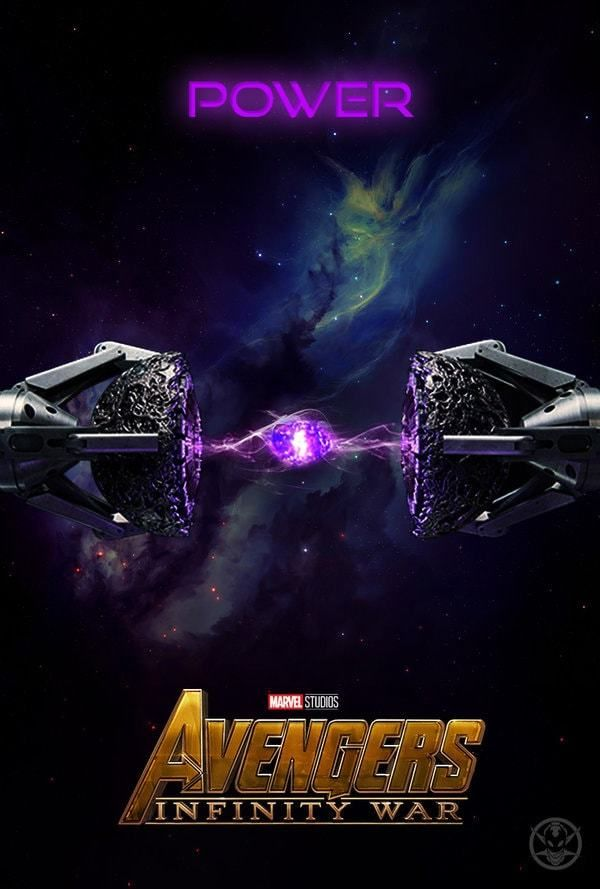 Image result for power infinity stone poster