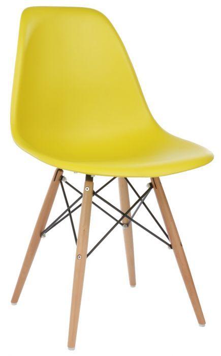 Replica Eames Premium DSW Side Chair in Plastic ...