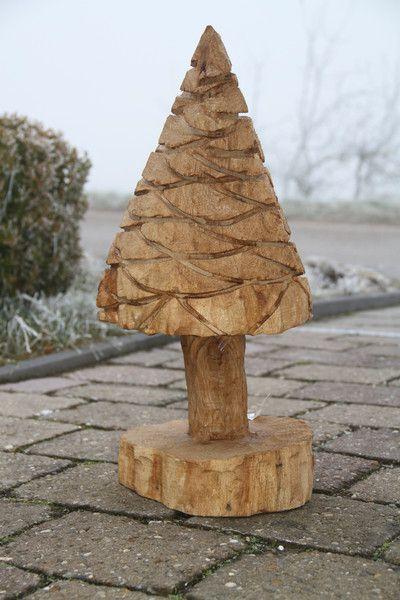 *DEKO Baum* Skulptur Carving / Kettensäge Holzdeko