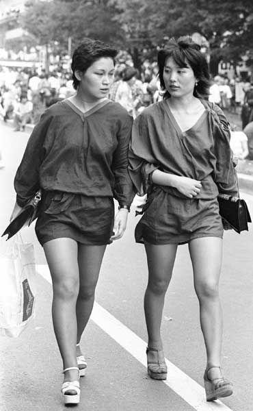 1977年 原宿 | 古い写真, ファッション写真, 写真