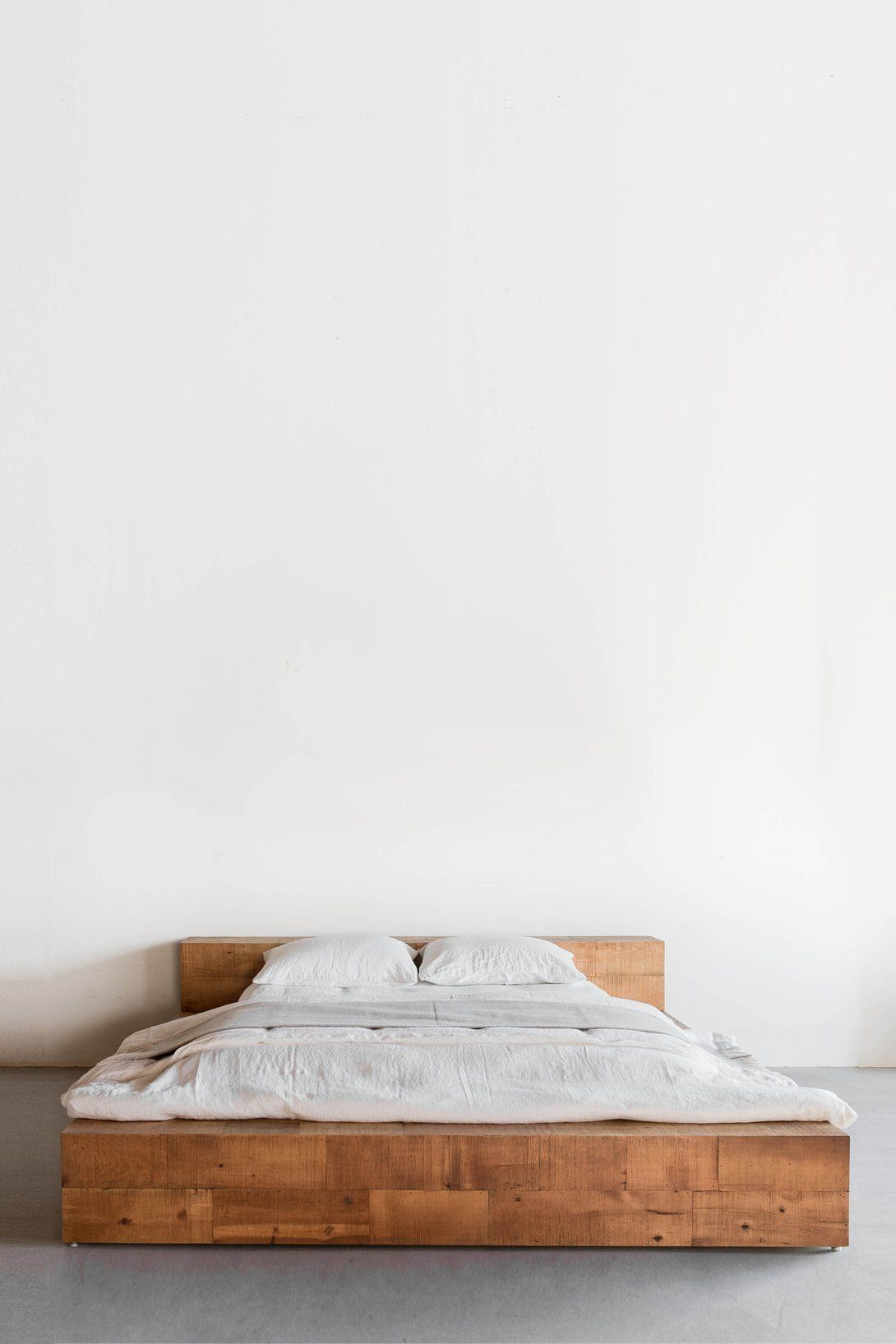 Hudson Platform Bed | Pinterest | Firs, Beams and Birch