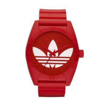 montre Adidas pour homme rouge et blanc 4