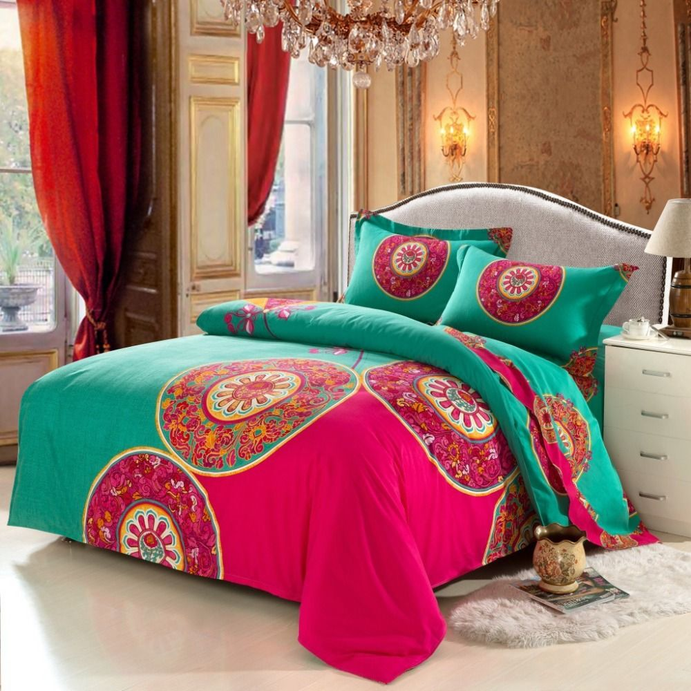 cheap bedding sets buy directly from china suppliers bohemian bedding set boho style funda nordica bedclothes moroccan duvet cover cotton bedsheet