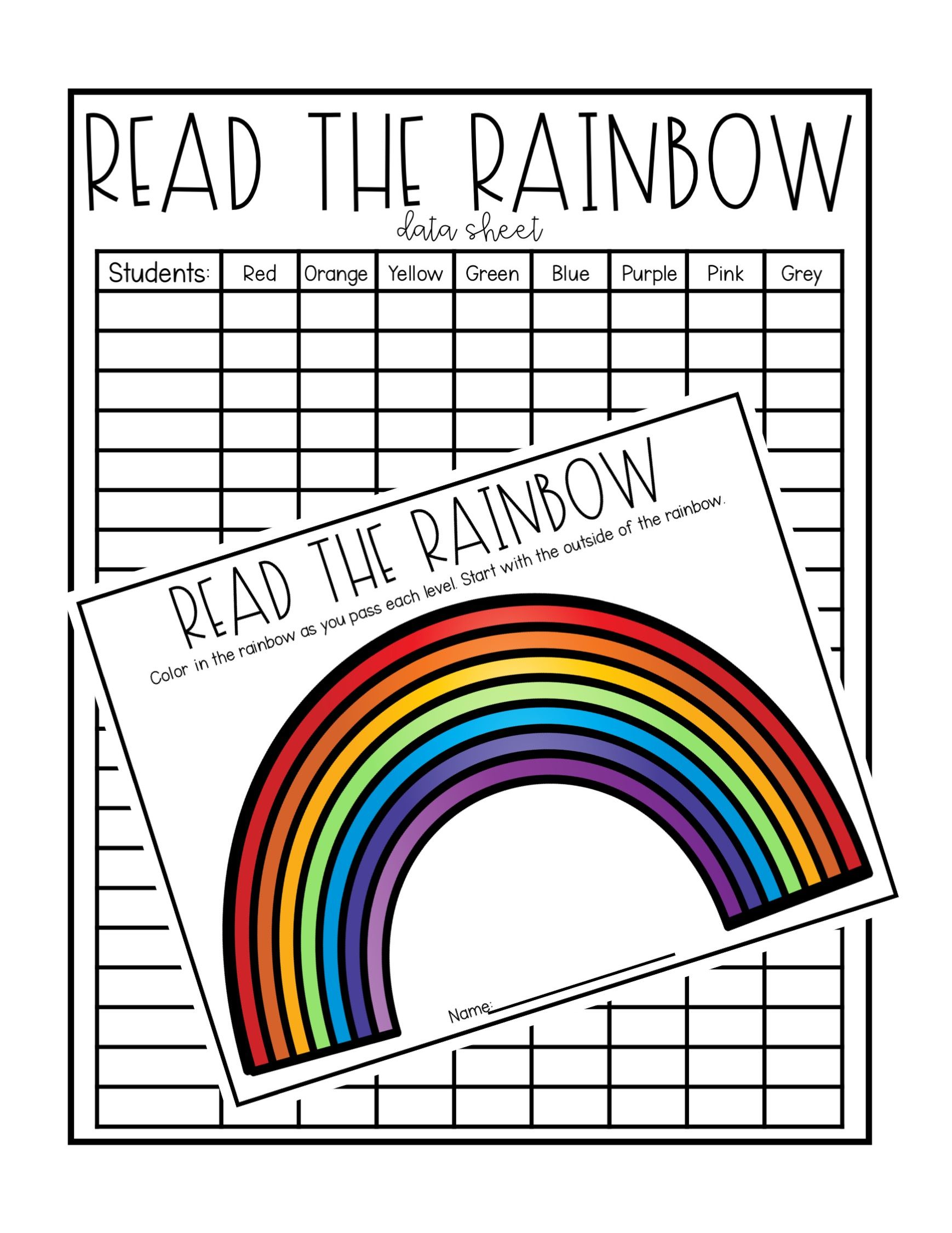 Differentiate Sight Words For Every Student Move Mountains In Kindergarten Sight Words Kindergarten Rainbow Writing Writing Sight Words [ 2249 x 1738 Pixel ]