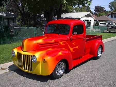 1947 Ford Desktop Nexus Wallpapers Classic Pickup Trucks Ford Pickup Trucks Custom Trucks