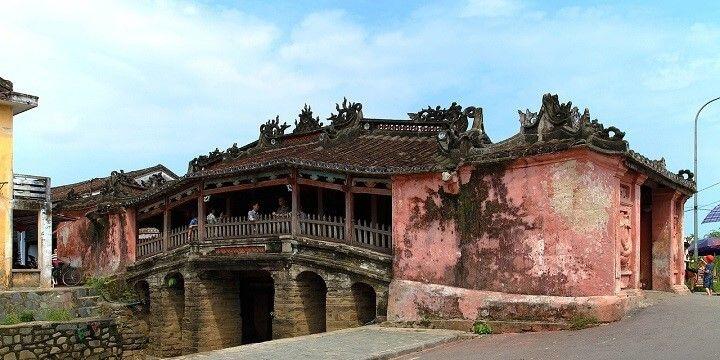 Japanese Covered Bridge, Hoi An, Vietnam, Asia