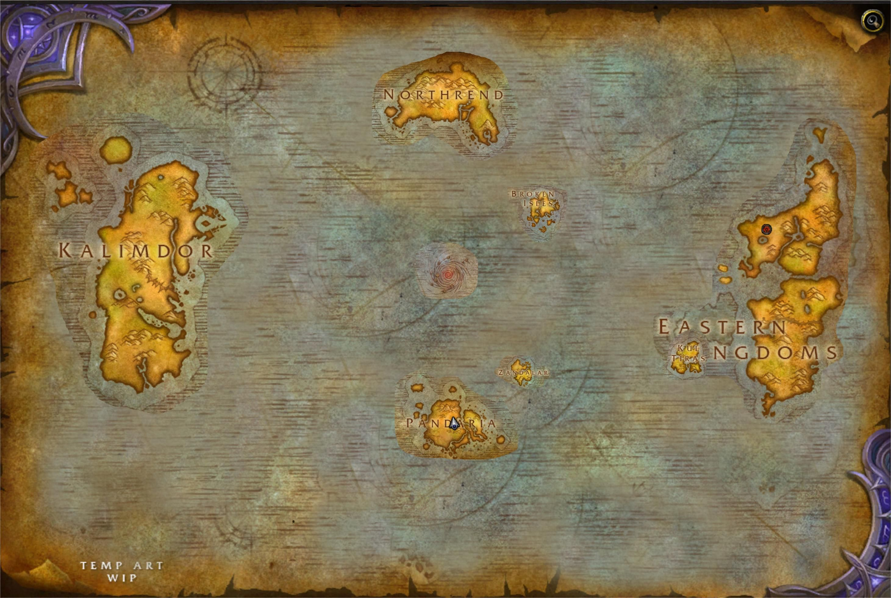 A Humble Fix For The Bfa World Map Worldofwarcraft Blizzard