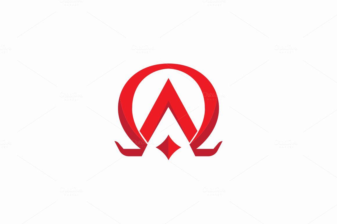 Alpha And Omega Logo By Drawzen On Creativemarket Alpha Omega
